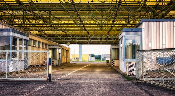 Przejście graniczne - zdjęcie ilustracyjne