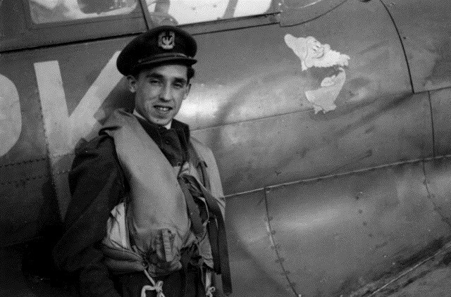 Franciszek Kornicki as a young pilot. Photo: Gabukasv/Wikimedia Commons (CC BY-SA 4.0)