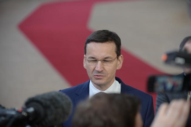 PM Mateusz Morawiecki. Photo: PAP/Marcin Obara