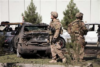 Pole among fatalities after Taliban suicide car bomb attack