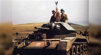 Belgowie oddali hołd pancerniakom generała Maczka