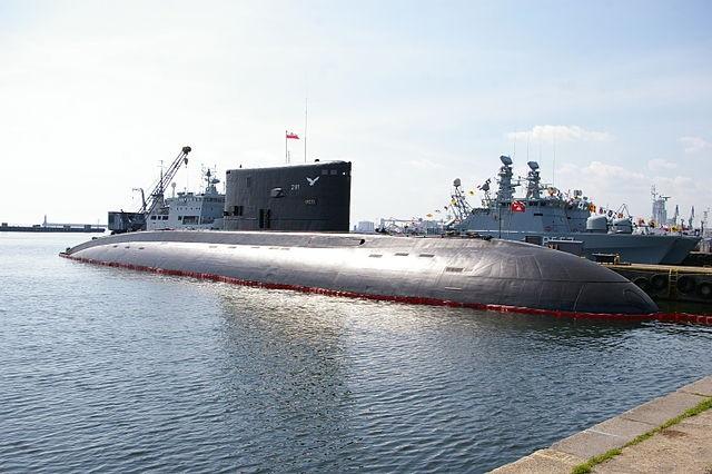 Polish submarine. Photo: Łukasz Golowanow & Maciek Hypś, Konflikty.pl/Wikimedia Commons