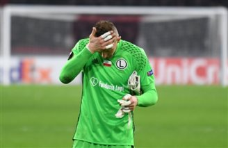 Legia loses to Ajax, drops out of Europa League
