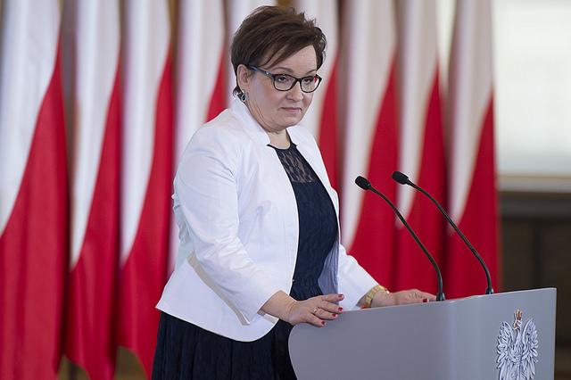Anna Zalewska. Photo: P. Tracz/KPRM (Public Domain)