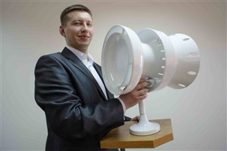 Geneva gold medal for Polish turbine inventor