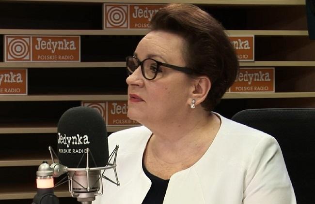 Poland's Education Minister Anna Zalewska. Picture: Polish Radio