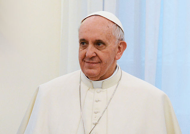 Папа Франциск.