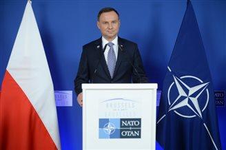 Polish President: NATO presence in Baltics