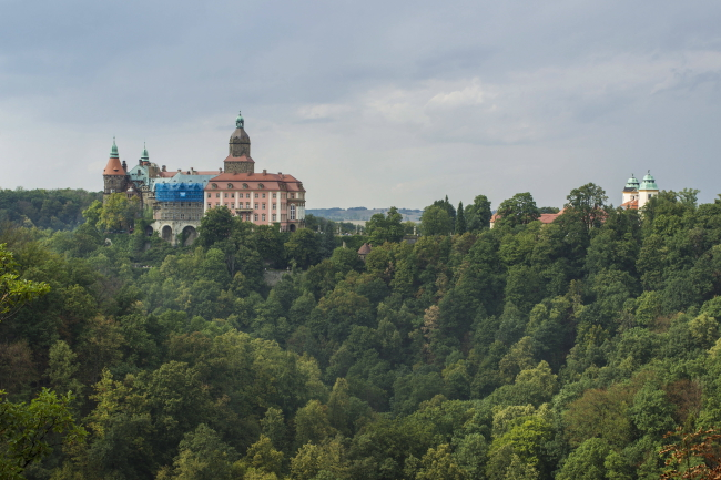 Ksiąz Castle on the outskirts of Wałbrzych. Photo: PAP/Aleksander Kożmiński