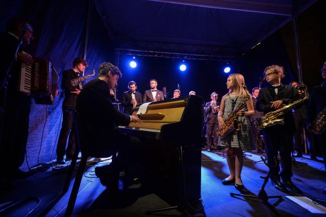 Концерт клезмерського оркестру в рамках Фестивалю єврейської культури «Варшава Зінґера»