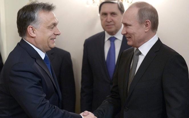Прем'єр-міністр Угорщини Віктор Орбан і президент Росії Владімір Путін