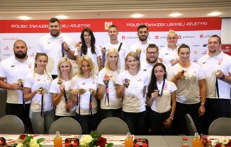 Bagful of medals for Polish track-and-fielders in Berlin