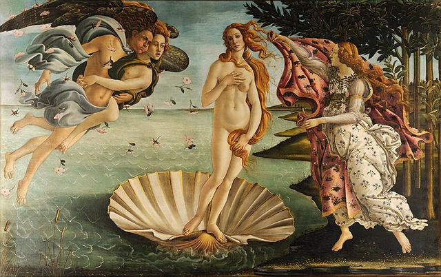 Сандро Боттічеллі, «Народження Венери»