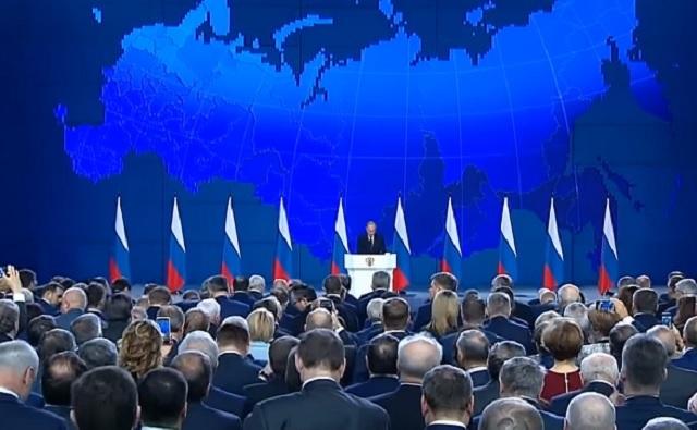 Выступление Владимира Путина перед Федеральным Собранием (20.02.2019)