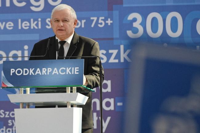 Jarosław Kaczyński. Photo: PAP/Darek Delmanowicz