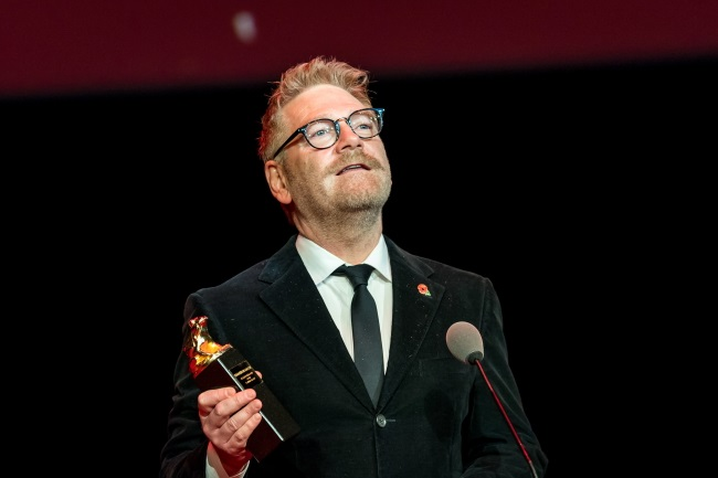 Kenneth Branagh at the Camerimage festival in Bydgoszcz. Photo: PAP/Tytus Żmijewski
