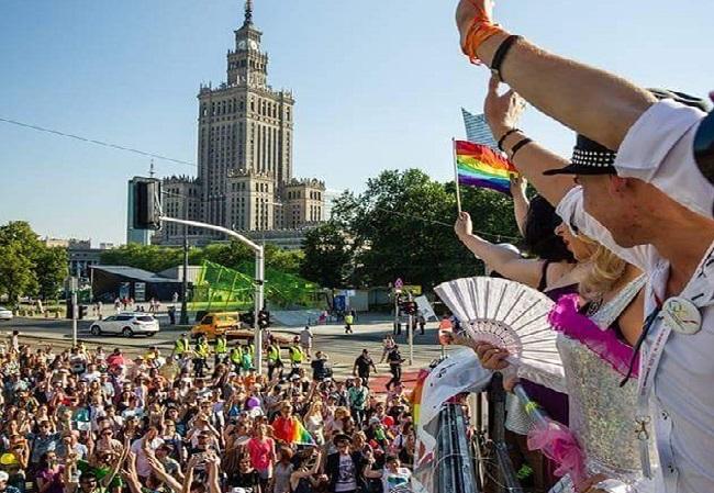 Equality Parade in Warsaw. Photo: Instagram.com/paradarownosci.