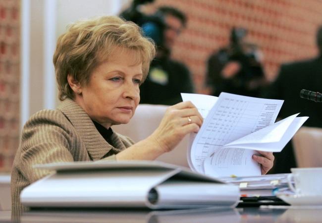 Zyta Gilowska. Archive picture from 2006. Photo: PAP/Bartłomiej Zborowski