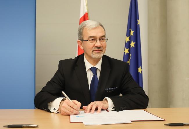 Віце-міністр розвитку Республіки Польща Єжи Квєцінський