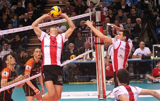 Polish volleyball champs Resovia win in Novosibirsk