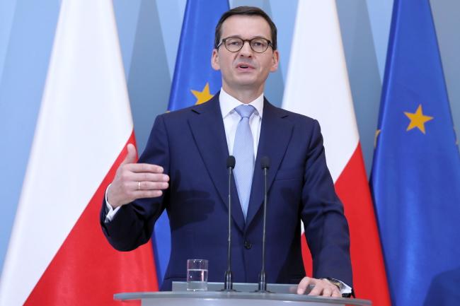 Prime Minister Mateusz Morawiecki. Photo: PAP/Tomasz Gzell