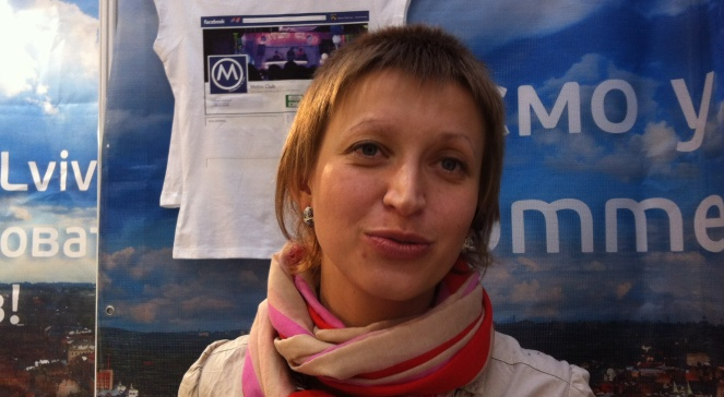 Марта Лотиш зі Львова (Всеукраїнська молодіжна хостел асоціація)