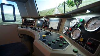 Simtraq - innowacyjny symulator lokomotywy