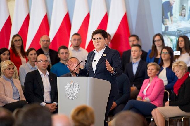 Prime Minister Beata Szydło. Photo: pis.org.pl