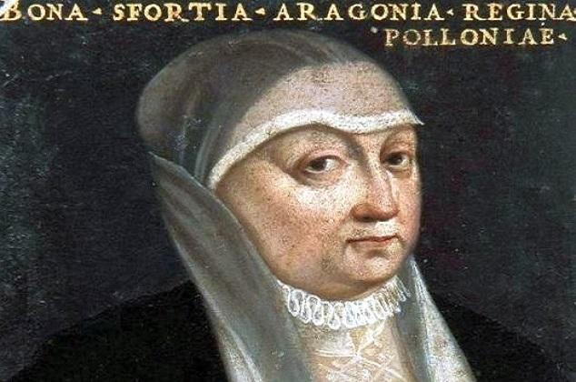 Portret Bony, ok. 1550 r., autor nieznany. Żródło: Wikipedia