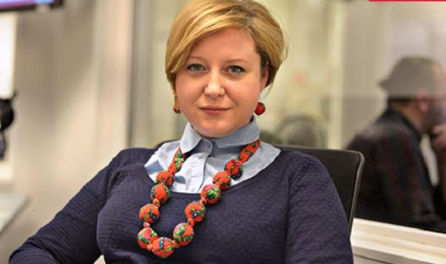 Journalistin Aleksandra Rybińska