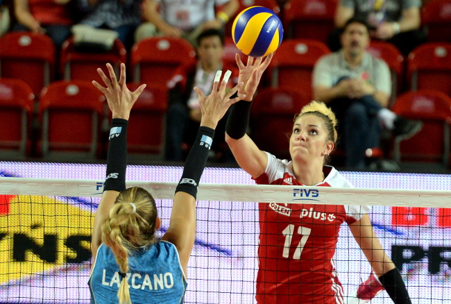 Poland's Malwina Smarzek. Photo: PAP/Piotr Polak.