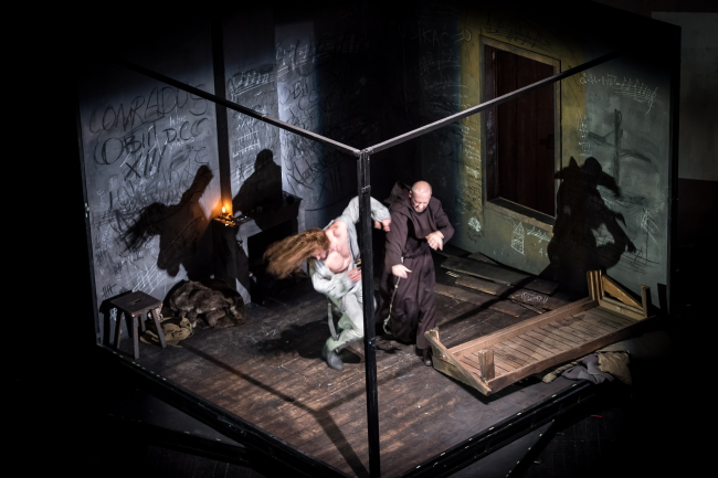 'Forefathers Eve' is performed at Teatr Polski. Photo: PAP/Maciej Kulczyński