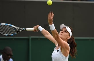 Polish star Radwańska into third round at Wimbledon