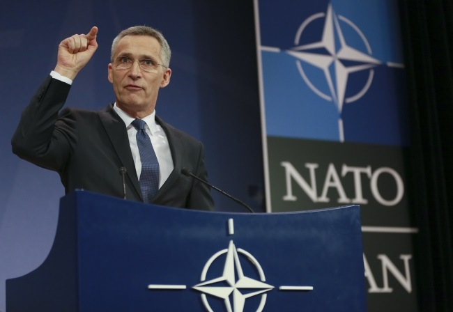 NATO Secretary-General Jens Stoltenberg. Photo: EPA/OLIVIER HOSLET