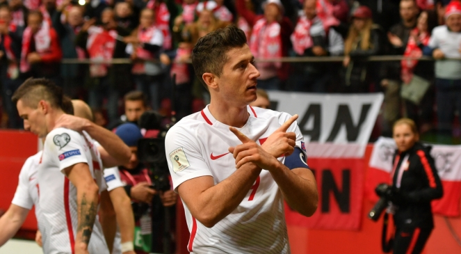 Капітан збірної Польщі з футболу та нападник німецького футбольного клубу «Баварія» Мюнхен Роберт Лєвандовський