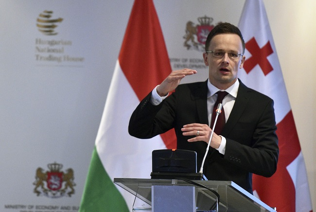 Hungarian Foreign Minister Peter Szijjarto. Photo: Ministry of Foreign Affairs and Trade