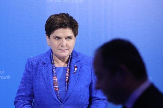 PM Beata Szydło. Photo: PAP/Rafał Guz