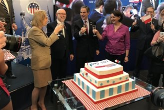 American embassy celebrates US-Polish diplomatic relations