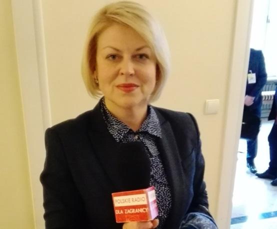 Andżelika Borys, prezes Związku Polaków na Białorusi