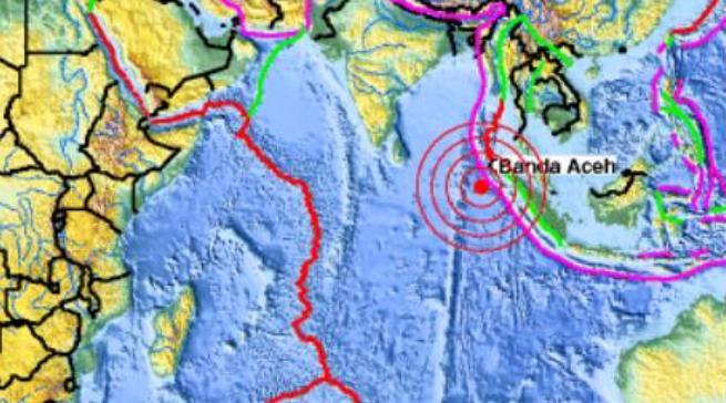 Rejon trzęsienia ziemi w Indonezji