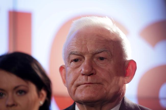 Leszek Miller war von 2001 bis 2004 Ministerpräsident Polens