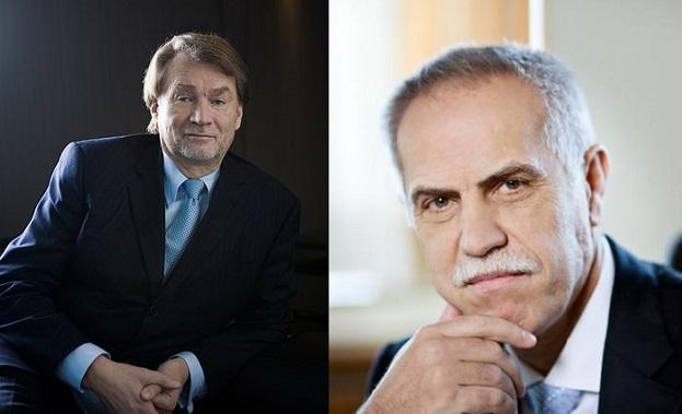 Jan Kulczyk (L) and Zygmund Solarz-Żak (R) are Poland's richest. Photo: Wikimedia Commons