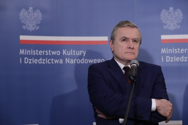 Poland's Deputy Prime Minister and Culture Minister Piotr Gliński. Photo: PAP/Tomasz Gzell