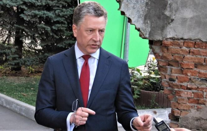 Спеціальний представник Державного департаменту США з питань України Курт Волкер