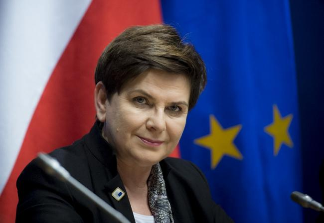 Polish Prime Minister Beata Szydło. Photo: premier.gov.pl/P. Tracz.