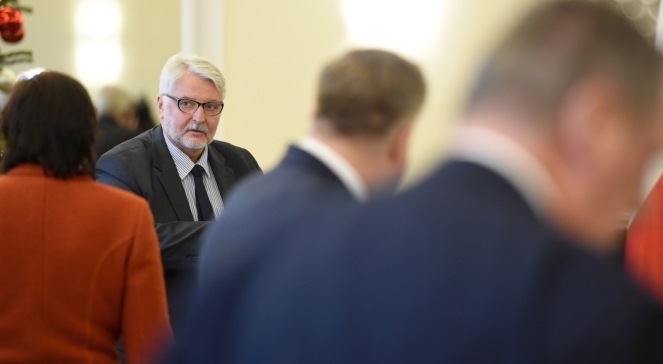 Міністр закордонних справ Польщі Вітольд Ващиковський