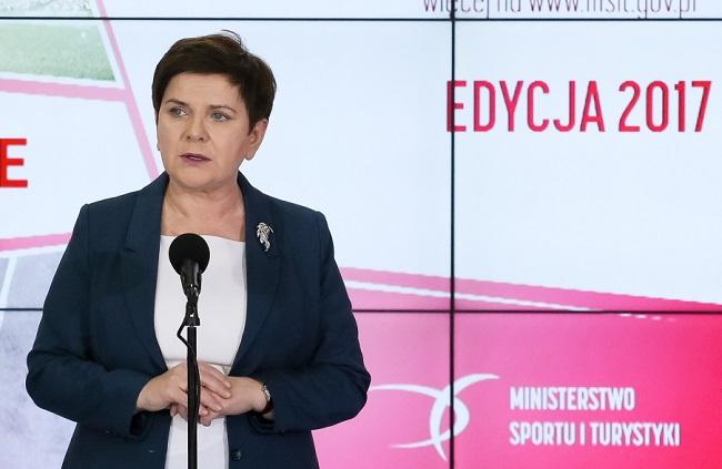 PM Beata Szydło. Photo: PAP/Paweł Supernak