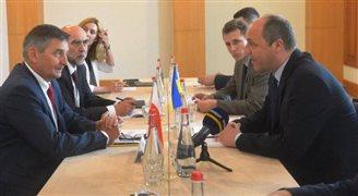 Spotkanie marszałka Sejmu z szefem parlamentu Ukrainy