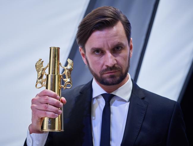 Обладатель гран-при кинофестиваля в Гдыне Петр Домалевский.
