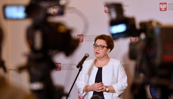 Министр просвещения Анна Залевская
